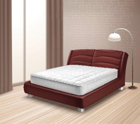 Mattress Bed In Home Interior